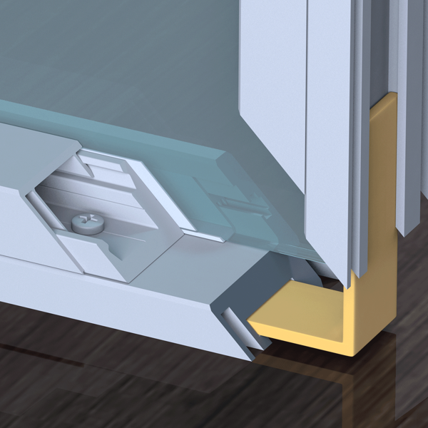 Picture for category Additional Hardware for Alu Doorframes