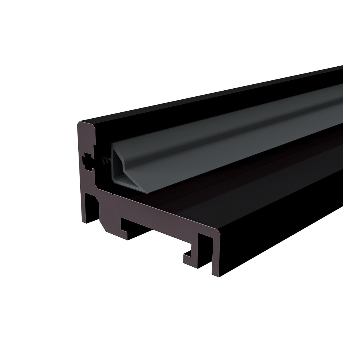 Picture of IG AD 5700 STANDARD BLACK Aluminium doorframe