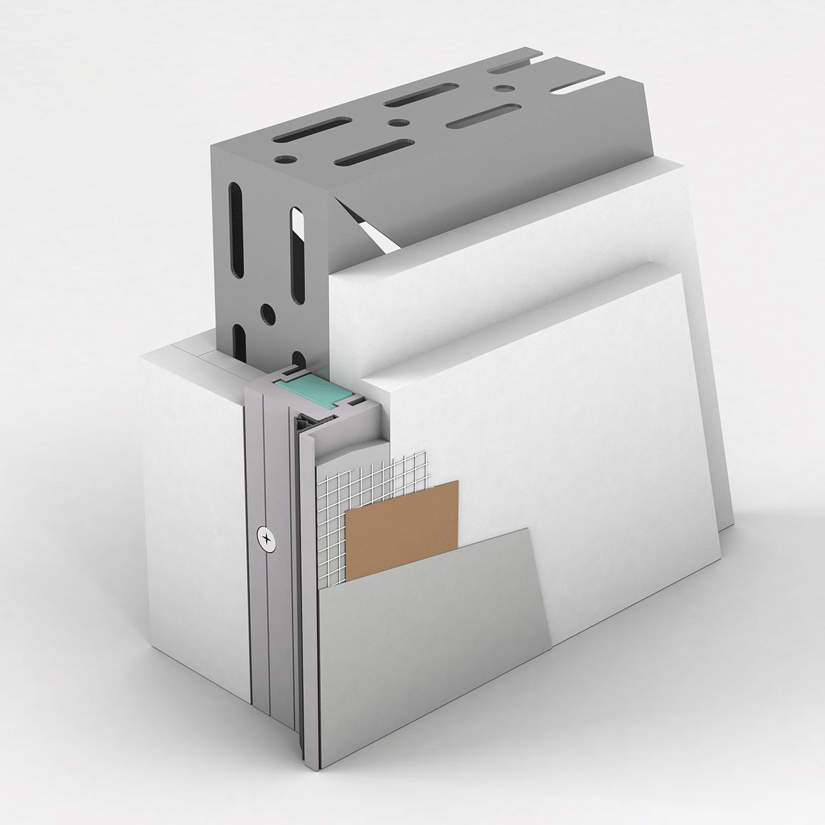 Slika: IG AD 5700 INVISIBLE Aluminijski dovratnik