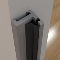Picture of IG AD 5700 MINI BLACK Aluminium doorframe