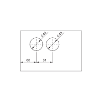 Picture of SA CU01-87A-19 Alu Cylinder lock